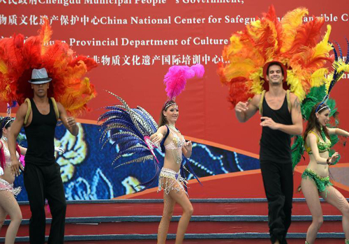4th Int'l Festival of Intangible Cultural Heritage opens in Chengdu