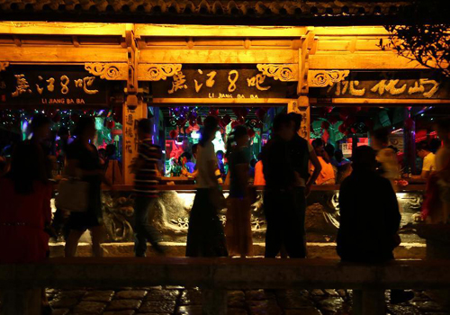 Ancient town Lijiang in SW China braces tourism peak