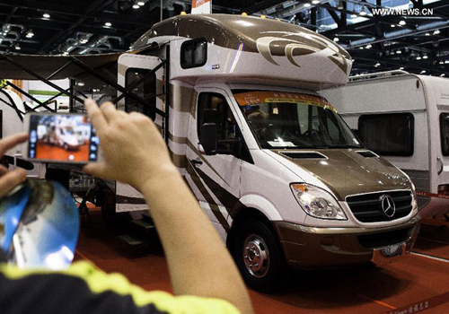 RV travel grows in China