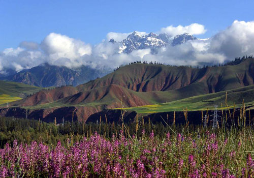 Scenery of Qilian Mountains