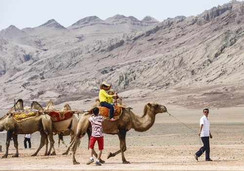 Turpan enters tourism peak