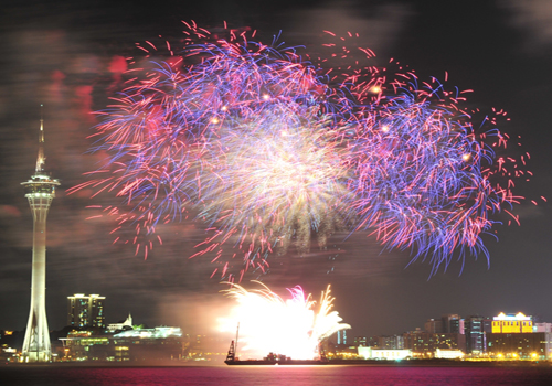 Macao Special: Fireworks Festival among Fall Highlights for SAR