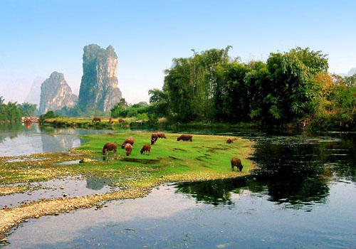 Li River Is Selected As One of the World's 15 Best Rivers for Travelers