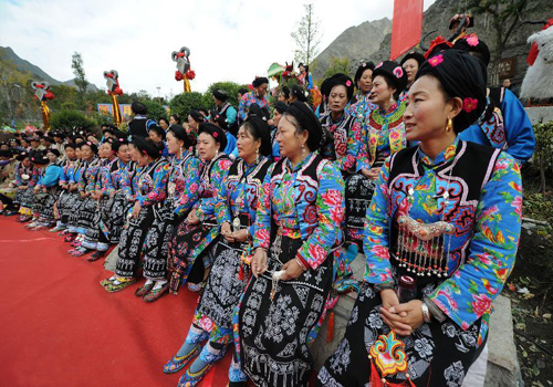 New Year of Qiang Ethnic Minority Celebrated in Sichuan