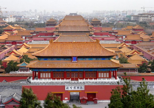 Forbidden City Museum Close to Public on Monday