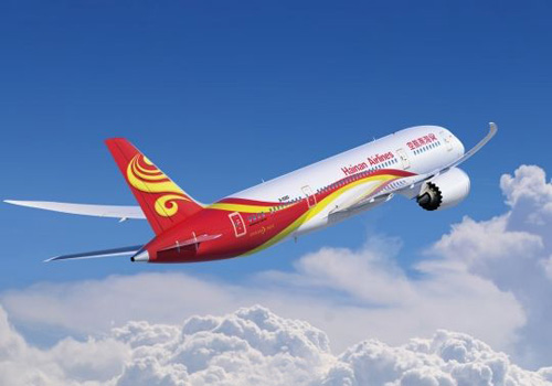 Hainan Airlines to Launch Beijing-Boston Route