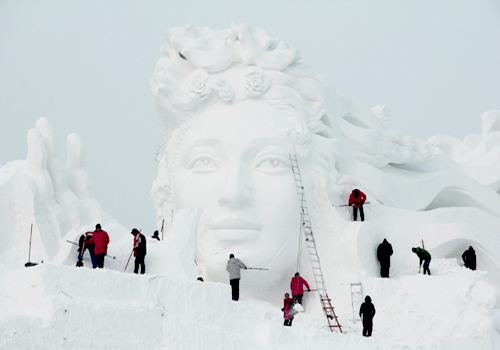 The 30th Harbin Snow and Ice Festival to Open