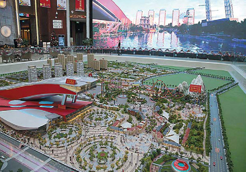 Wanda building 'cultural and tourist town' in Harbin