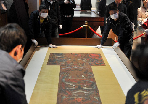 Relics from Mawangdui Han Tombs to Be Re-presented in Changsha, China