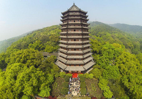 Six Harmonies Pagoda Reopens to Public in China's Hangzhou