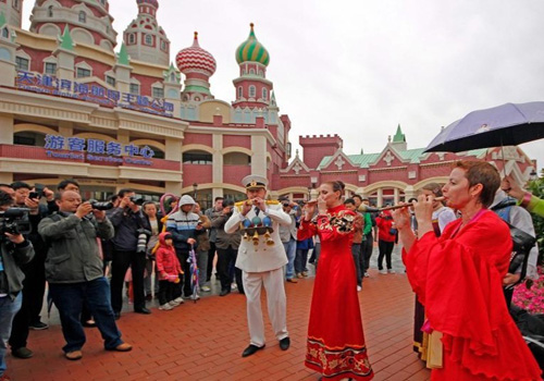 First Russian-style Street in Tianjin opened to public