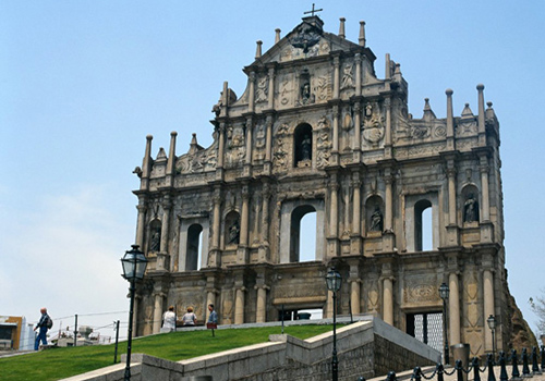 The Ruins of St. Paul is a symbol as well as a very famous attractions of Macau.