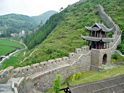 China Tours, China Travel Guide, Southern Great Wall of Hunan