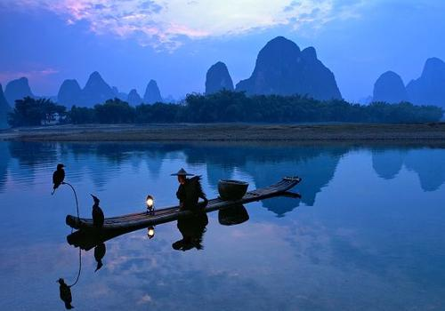Li River Boasts The Best Landscape Under Heaven Is A Real Fairyland To Admire Karstic Rice Paddies Bamboo Groves Waterfalls Buffalos