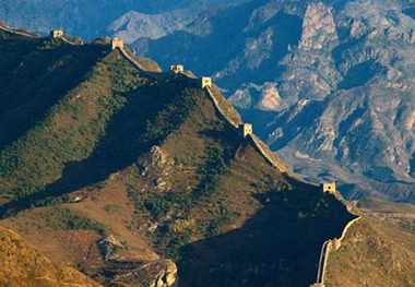 the seven wonders of the ancient world?The Great Wall of China