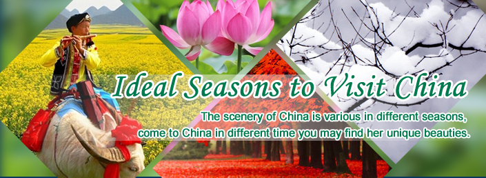 Ideal Seasons to China