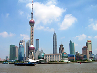 Shanghai Financial Towers and Modern Tall Buildings