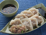 the dumplings, famous local food and snacks in Xi'an