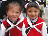 Friendly Local People, Lovely Kids in Lijiang and Shangri-La