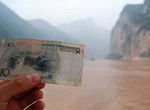 Famours Yangtze river is selected as the background for RMB 10 Yuan.
