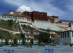 Central religionary temple, the Potala Palace