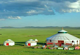 experience the plain and tent at Hohhot