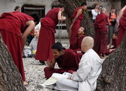 Monks from Japan travel overseas to see the holy religion and world roof of Tibet.