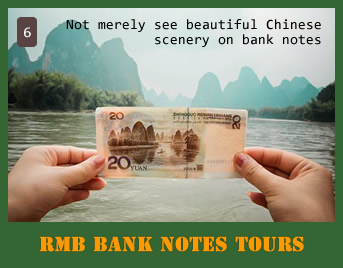 RMB Bank Notes Tours